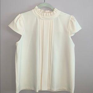 Ann Taylor cap sleeve blouse